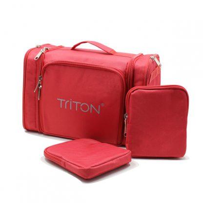 сумка для кардиографа медицинская специальная красная комплект