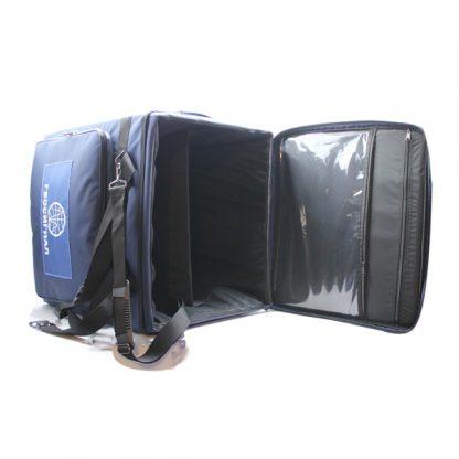Сумка оборудование приборы большая прочная синяя специальная внутри