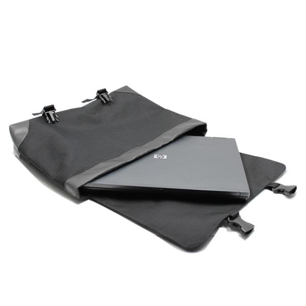 сумка портфель простой для ноутбука лептом без молнии черный экокожа внутри
