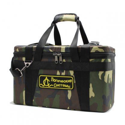 сумка специальная прибор кофр прочная большая камуфляж сбоку