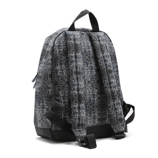 рюкзак повседневный городской мужской женский принтованный простой R-01 сзади