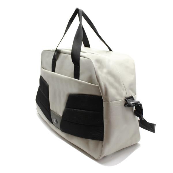 сумка дорожная для спорта путешествия большая вместительная бежевый сверху
