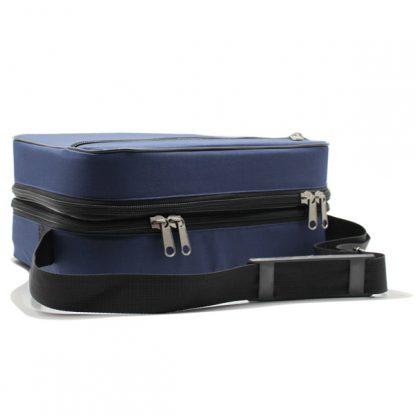 сумка медицинская для переноски приборы скорая помощь синяя лежит