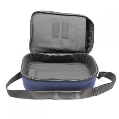сумка медицинская для переноски приборы скорая помощь синяя внутри