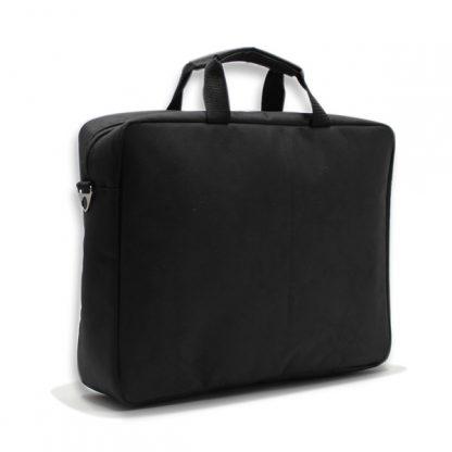 сумка портфель для ноутбука для бумаг поездка черная промо реклама поворот