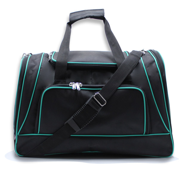 сумка спортивная большая мужская для путешествий дорожная черная с ремнём