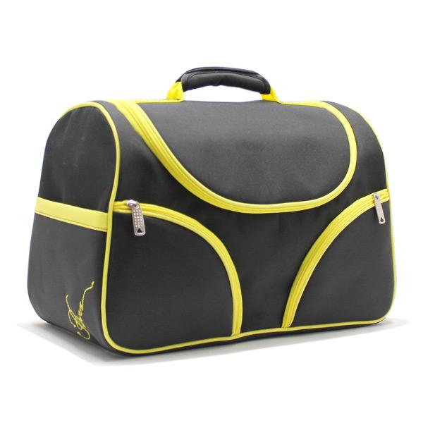 Сумка чемодан для визажистов и парикмахеров сбоку