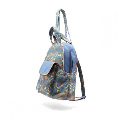 рюкзак дамский небольшой сумка принт сбоку