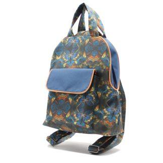 рюкзак дамский небольшой сумка принт карман