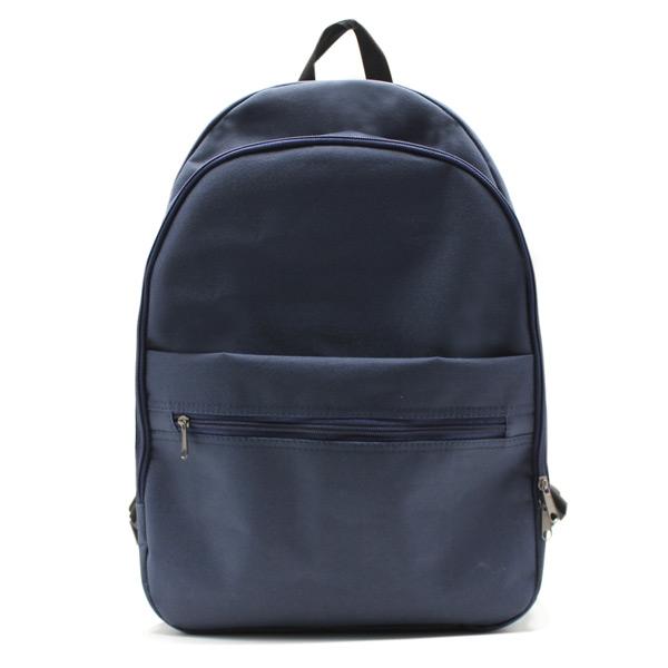 рюкзак простой городской спортивный молодёжный универсальный спереди