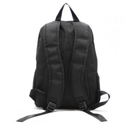 рюкзак спортивный для фитнеса универсальный молодёжный черный лямки