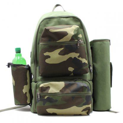 рюкзак туристический для охоты исследования путешествия хаки спереди