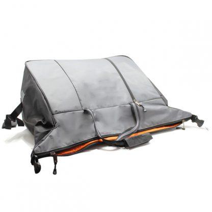 сумка дорожная спортивная большая серая мужская внутри