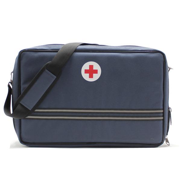сумка медицинская для ингалятора синяя с ремнём