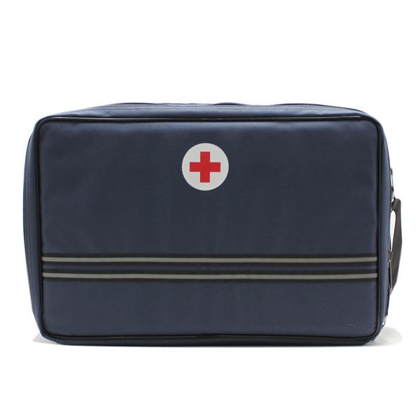 сумка медицинская для ингалятора синяя спереди