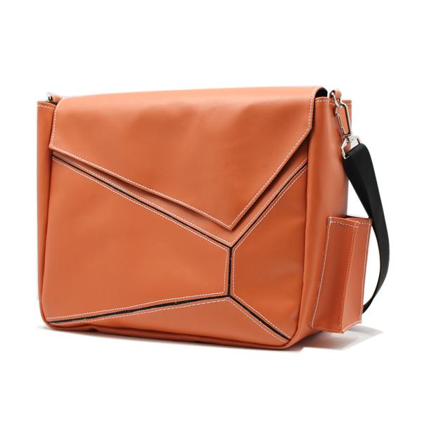сумка на плечо промо акция реклама фирменный стиль оранжевая сбоку
