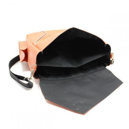 сумка на плечо промо акция реклама фирменный стиль оранжевая внутри