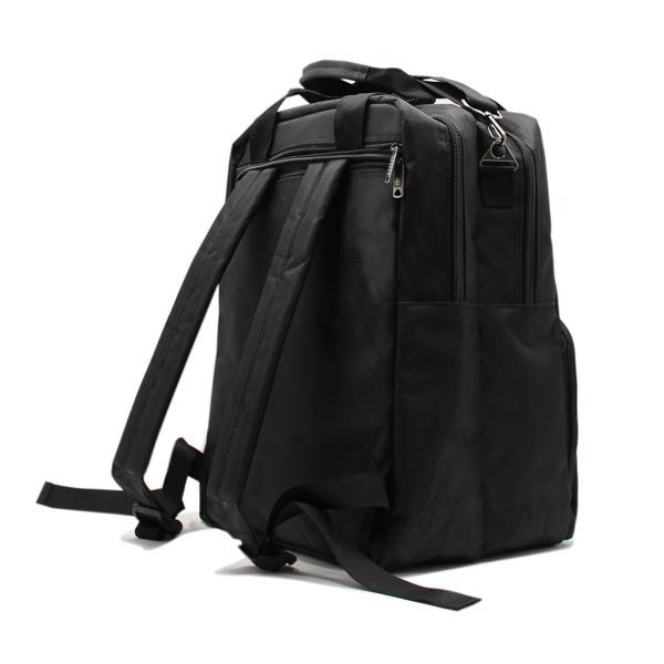 сумка рюкзак трансформер реклама ноутбук унисекс черный сзади