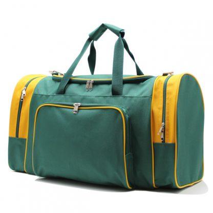 сумка спортивная для футбола большая фирменный стиль сбоку