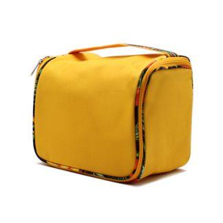 сумка вместительная косметичка квадратная на молнии сбоку