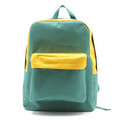 рюкзак одно отделение карман спортивный для команды спереди