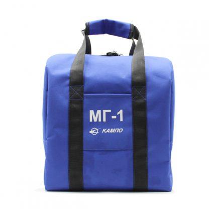 сумка для шлема форма комплект синий спереди