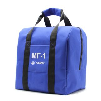 сумка для шлема форма комплект синий сбоку