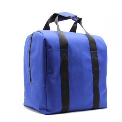 сумка для шлема форма комплект синий сзади