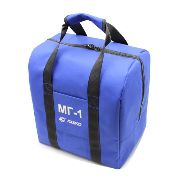 сумка для шлема форма комплект синий с ручками