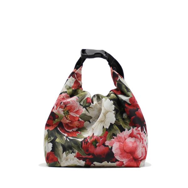сумка холодильник маленькая для одного обеда цветы маленькая