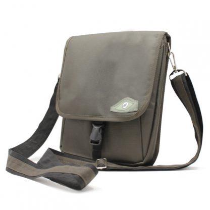 сумка планшет через плечо городская маленькая с ремнём