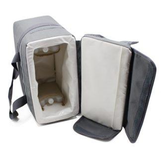 сумка холодильник изотермическая с хладоэлементами открытая