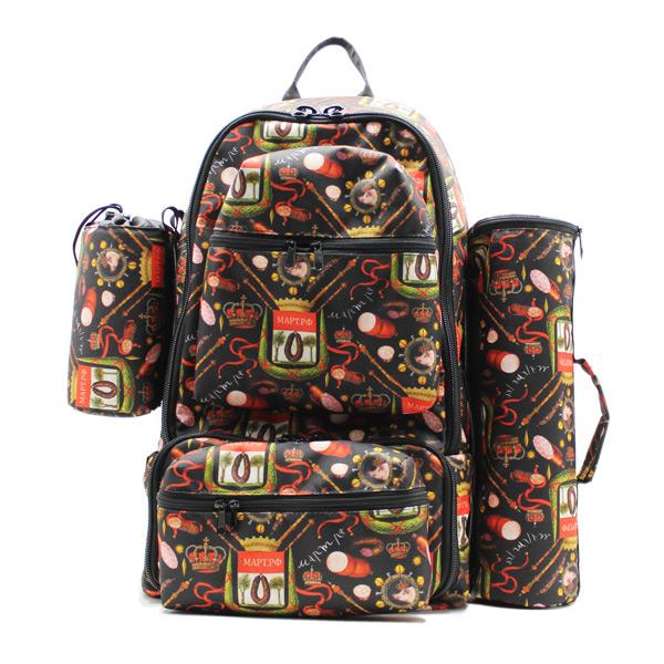 рюкзак для путешествий туризм рабылка дизайн ткань спереди