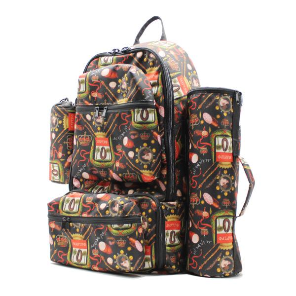 рюкзак для путешествий туризм рабылка дизайн ткань сбоку