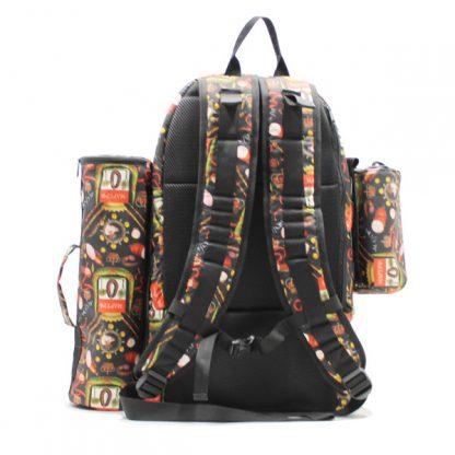 рюкзак для путешествий туризм рабылка дизайн ткань сзади