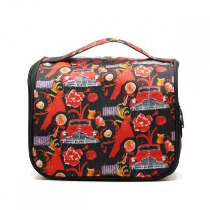 сумка косметичка несессер дорожная принт авторский дизайн спереди