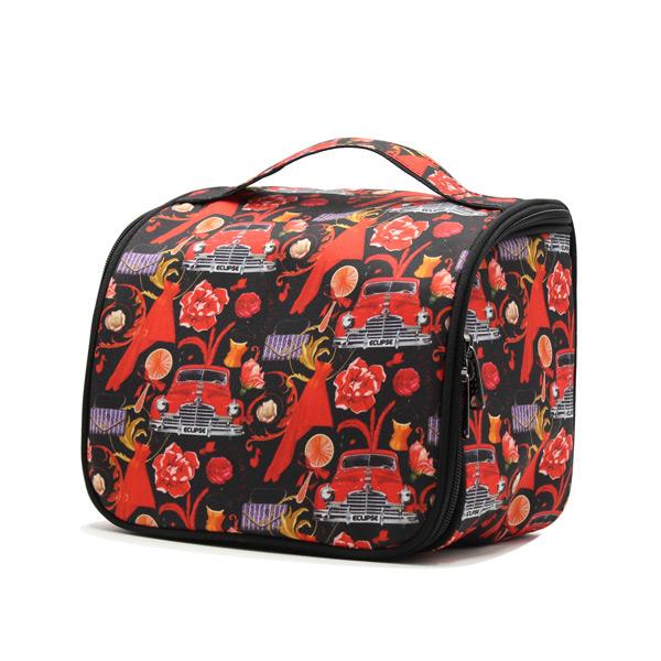 сумка косметичка несессер дорожная принт авторский дизайн сбоку