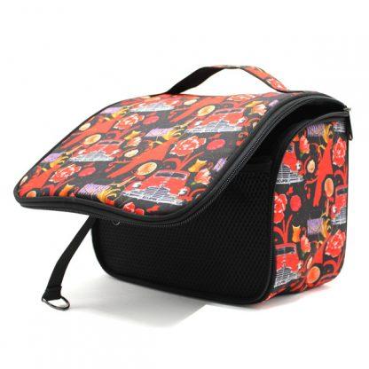 сумка косметичка несессер дорожная принт авторский дизайн внутри