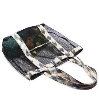 сумка пляжная из сетки промо лето сверху