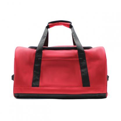 сумка ручная кладь самолёт компактная для путешествий красная спереди