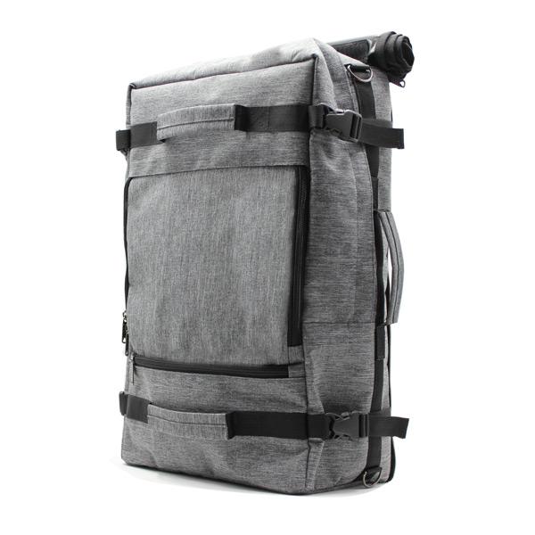 рюкзак сумка трансформер для ноутбука городской мужской сбоку
