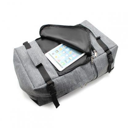 рюкзак сумка трансформер для ноутбука городской мужской карман