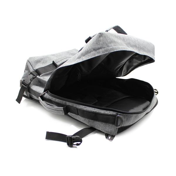 рюкзак сумка трансформер для ноутбука городской мужской внутри