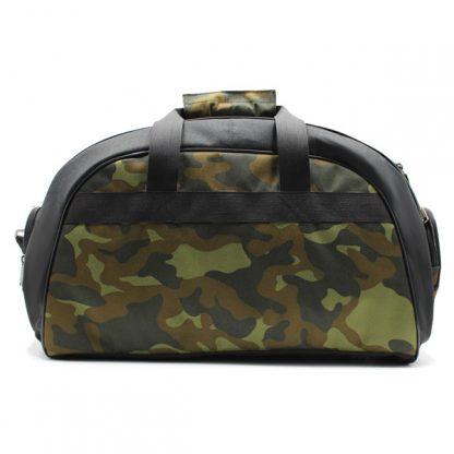сумка для спорта и фитнеса камуфляж мужская спереди