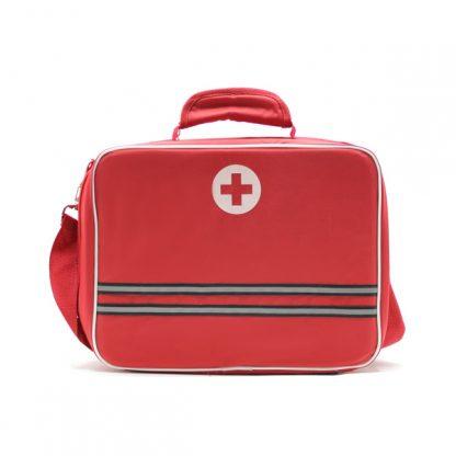 медицинская сумка для скорой помощи красная спереди