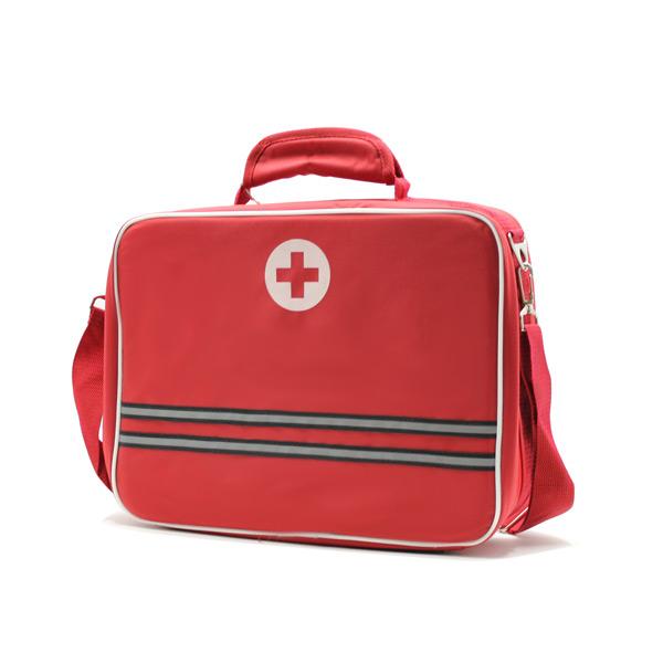 медицинская сумка для скорой помощи красная сбоку