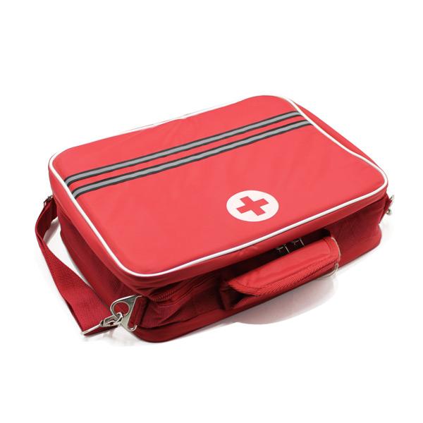 медицинская сумка для скорой помощи красная сверху
