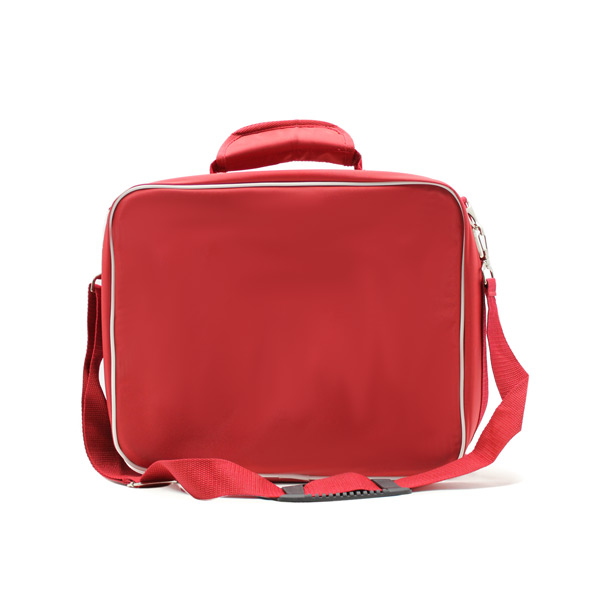 медицинская сумка для скорой помощи красная сзади