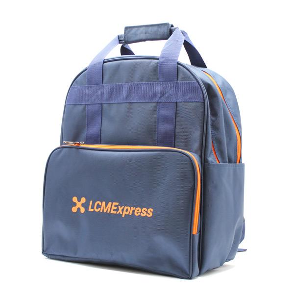 рюкзак для курьера для бумаг сбоку