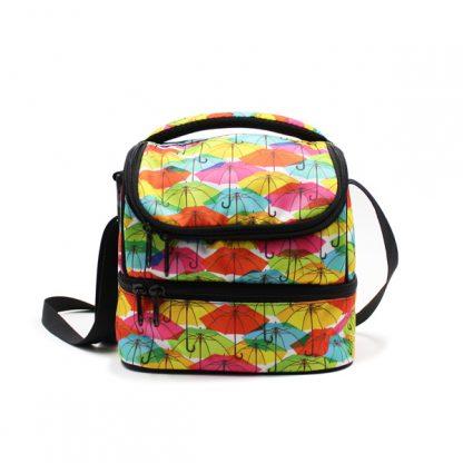 сумка для еды и обеда lunch bag спереди